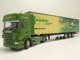 "Scania R580 Krone ""Big M"" trailer"