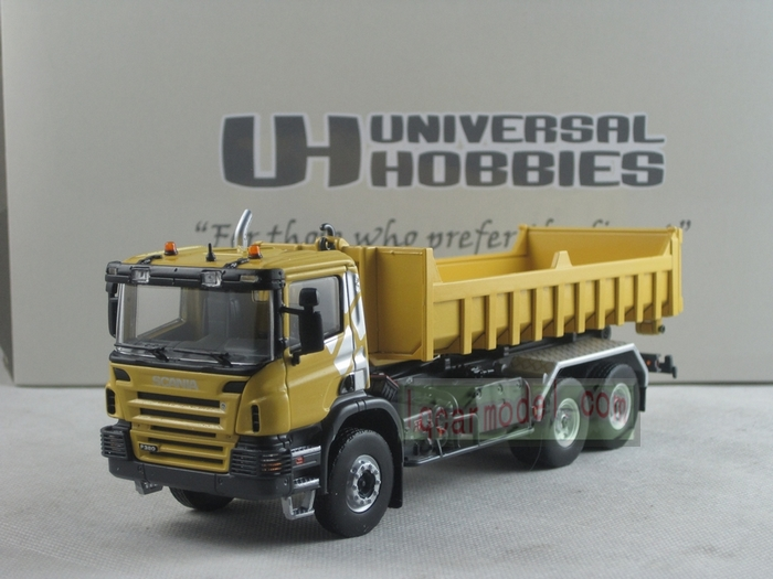 Scania P380 + Dumpster